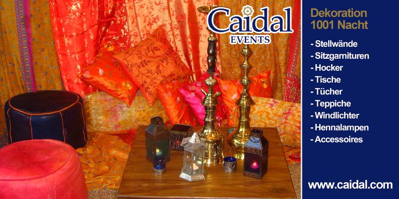 Caidal Orientalische Events Beduinenzelte Dazu